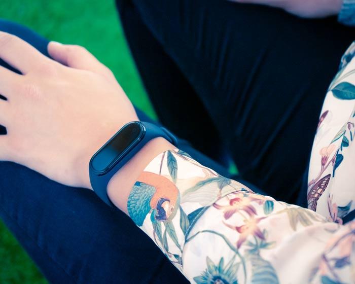Xiaomi Mi Band 4 am Arm