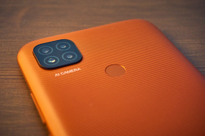 Redmi 9C Triple Kamera