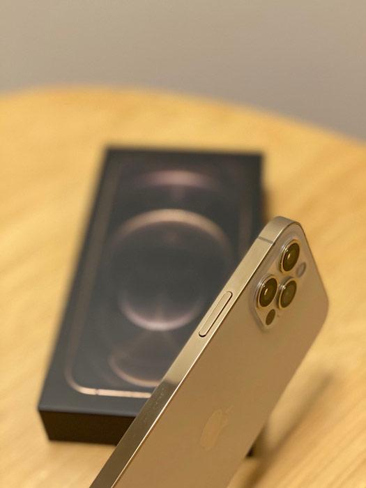 Glänzender Metallrahmen iPhone 12 Pro