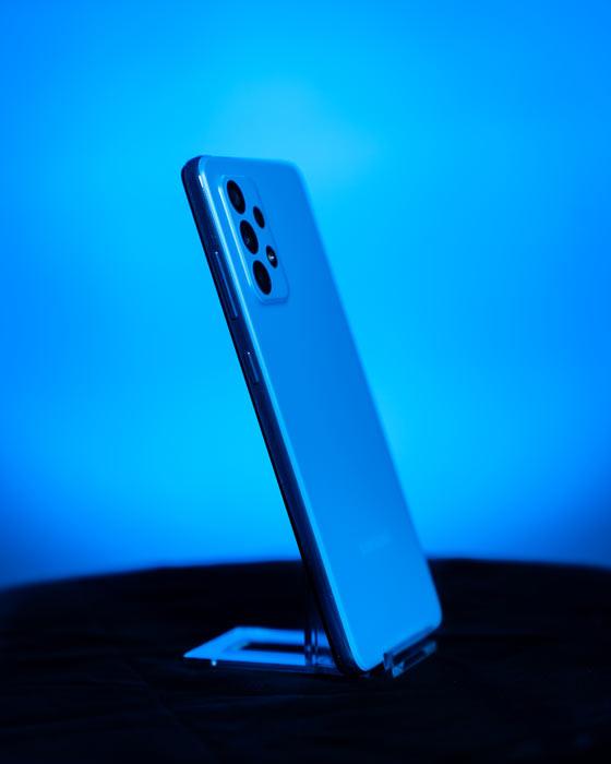 Seitenansicht Galaxy A52