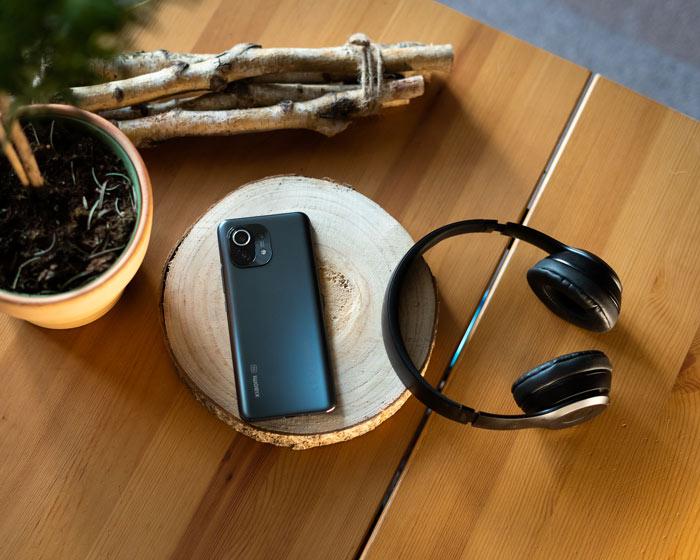 Xiaomi Mi 11 in Benutzung