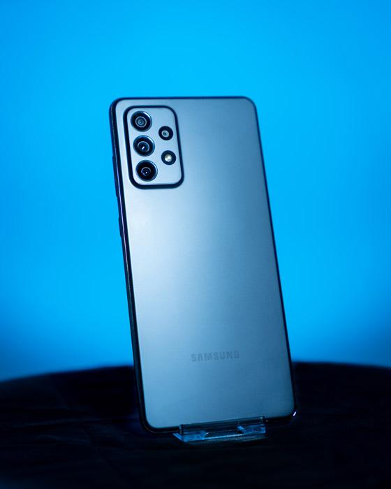 Kamera des Samsung Galaxy A72