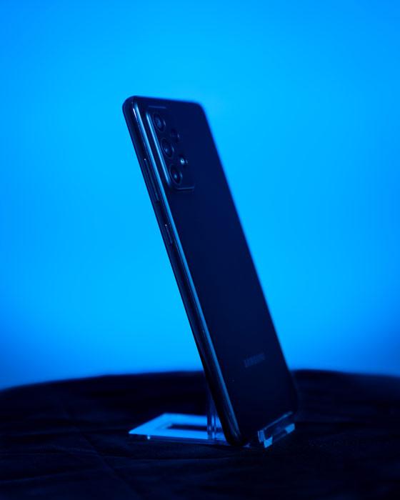 Seitenansicht Galaxy A72