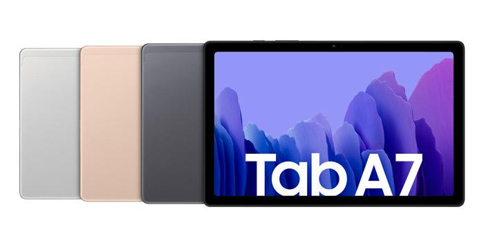 Galaxy Tab A7 verfügbare Farben