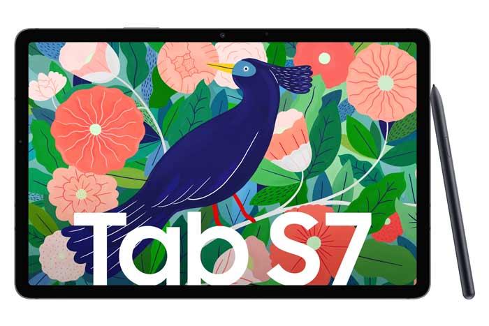 Galaxy Tab S7 Display